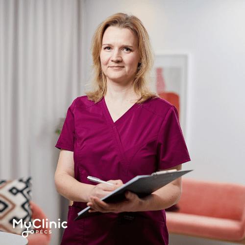 Dr. Nagy Bernadett a MyClinic Pécs nőgyógyásza