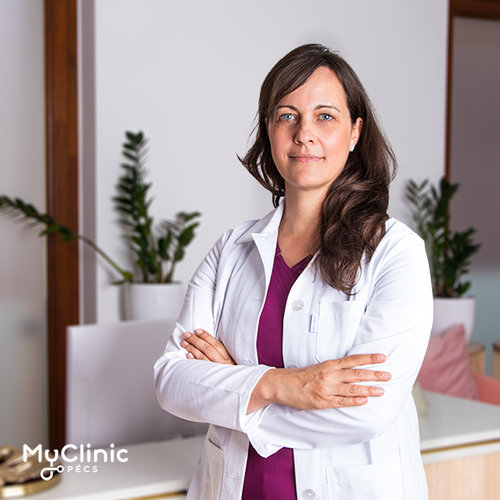 Dr. Lengyel Zsuzsa a MyClinic Pécs bőrgyógyásza