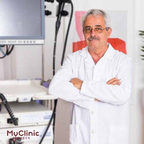 Dr. Pakodi Ferenc MyClinic Pécs Magánklinika belgyógyásza, gasztroenterológusa.
