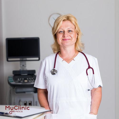 Dr. Pongrácz-Kreska Zita a MyClinic Pécs Magánklinika kardiológusa.
