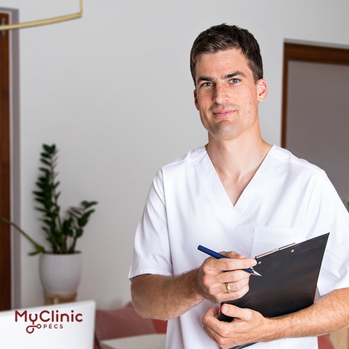 Dr. Oberling Máté a MyClinic Pécs Magánklinika háziorvosa és üzemorvosa