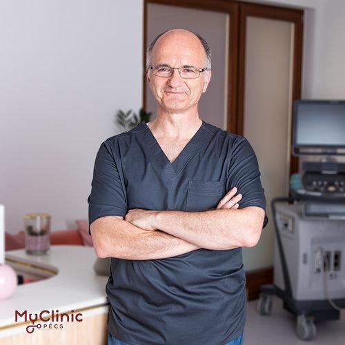 Dr. Nyárfás Géza a| MyClinic Pécs Magánklinika kardiológusa.