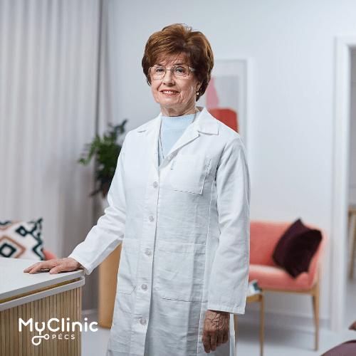 Dr. Nemes Zsuzsanna a MyClinic Pécs Magánklinika infektológusa