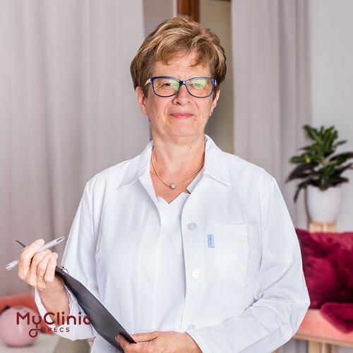 Dr. Dérczy Katalin a MyClinic Pécs radiológus szakorvosa