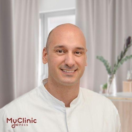 Dr. Farkas Bálint a MyClinic Pécs nőgyógyásza