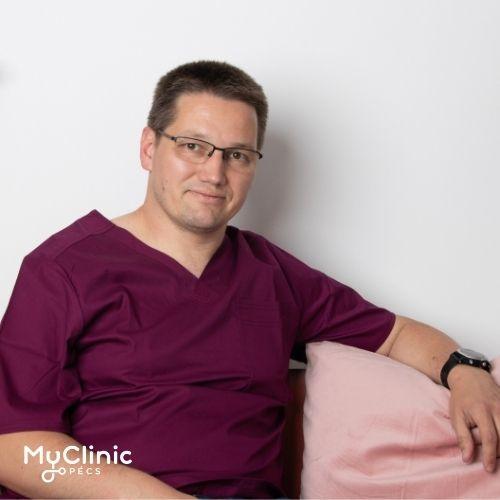 Dr. Baracs József a MyClinic Pécs sebész szakorvosa