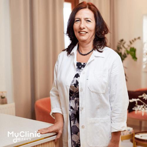 Prof. Dr. Nagy Zsuzsanna a MyClinic Pécs Magánklinika endokrinológusa