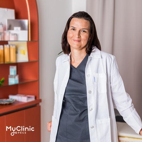 Dr. T. Kovács Katalin a MyClinic Pécs reumatológusa.