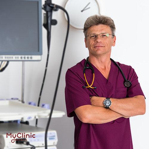 Dr. Szabó Imre László a MyClinic Pécs Magánklinika gasztroenterológusa.