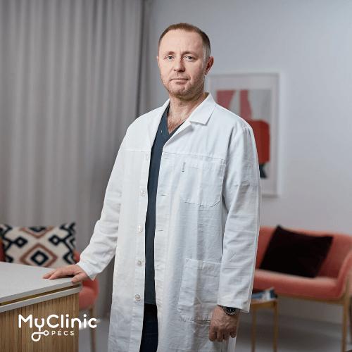 Dr. Trautmann Tibor a MyClinic Pécs Magánklinika urológusa.