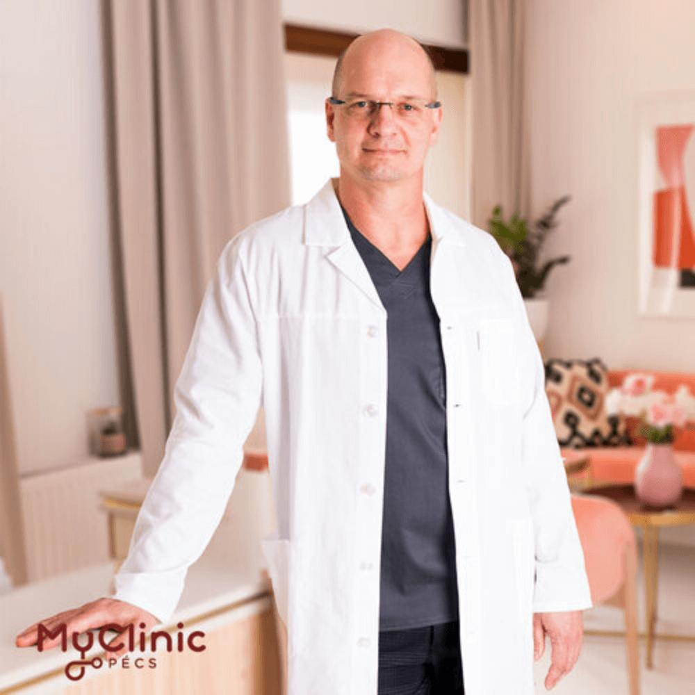 Dr. Hardi Péter a Myclinic Pécs érsebész szakorvosa.
